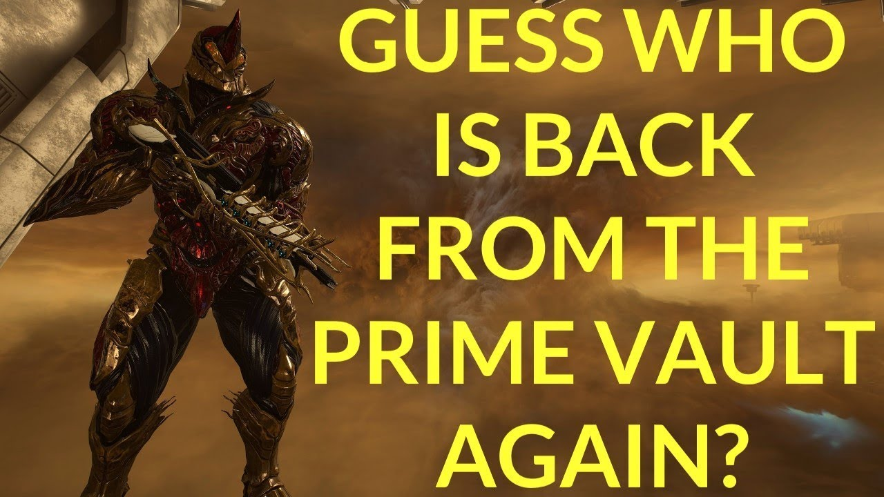 Warframe - NYX & RHINO PRIME: Coming Back From The Prime Vault In 2019!!