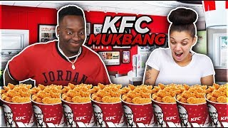 KFC MUKBANG GONE WRONG!! DAMIEN LITERALLY CHOKED ON THE DRIEST BISCUIT IN THE WORLD!!