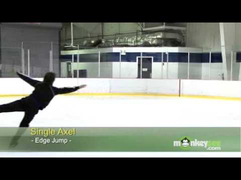 Ice Skating - The Axel Jump