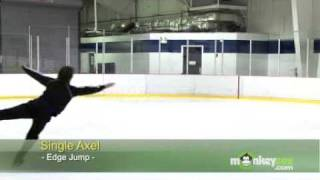 Ice Skating - The Axel Jump