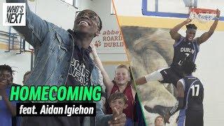 Aidan Harris Igiehon Is Irish Basketball's Savior. The IRISH HULK Will Return! 😱