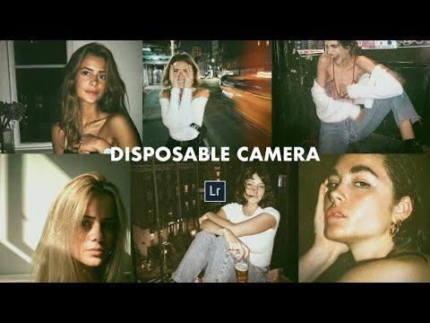 Disposable Camera Effect + Free Lightroom Mobile Preset DNG
