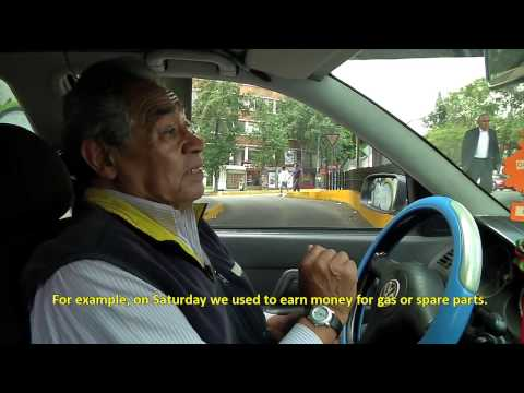 Inside The Americas - Mexico City traffic