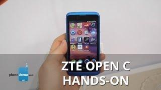 ZTE Open C hands-on