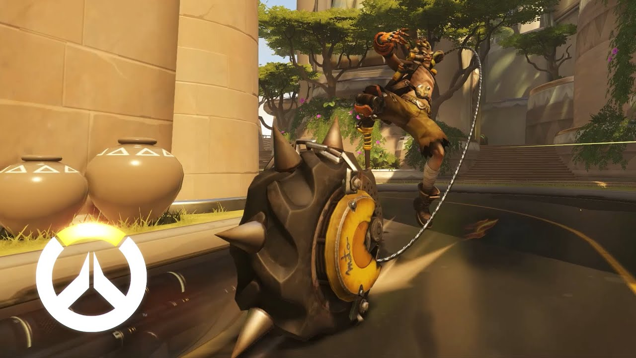 Junkrat Ability Overview | Overwatch - YouTube