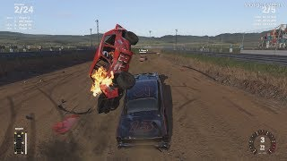 Wreckfest (Next Car Game) - Crash Canyon Track Gameplay