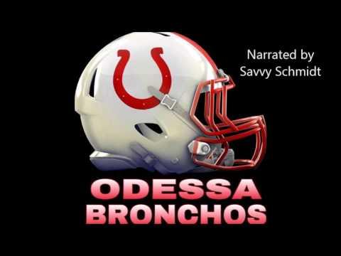 Odessa Jr Bronchos Custom Spec-Spot