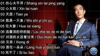 [Tổng hợp 10 ca khúc hay nhất của Nhậm Hiền Tề - part1] 10 lagu 任賢齊 Richie Jen part 1