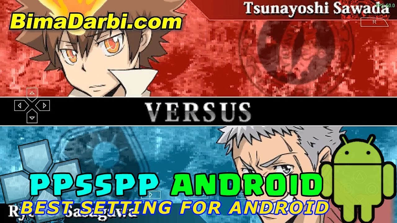 Katekyoo Hitman Reborn Battle Arena Ppsspp Android Best