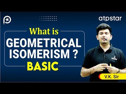 Geometrical Isomerism Explained   Organic Chemistry    IIT JEE   Vineet Khatri   ATP STAR