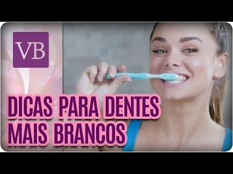 Dicas para ter dentes mais brancos - Você Bonita (08/08/16)