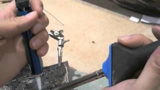 Comment dessouder une soudure à l'étain d'un composant électronique sur un circuit imprimé ?