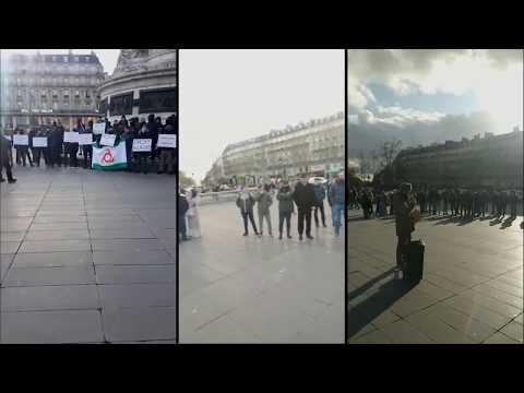 Резолюция митинга 18/01/2020, Париж:     Министру внутренних дел Франции