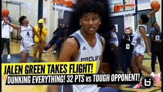 Jalen Green TAKES OFF for 32 Points vs TOUGH St Louis team!! Prolific Prep Full Highlights!