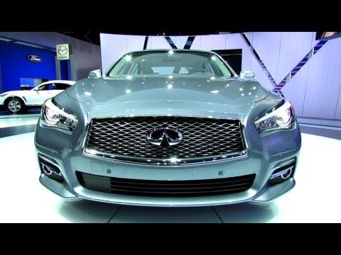 2014 Infiniti Q50 Hybrid - Exterior and Interior Walkaround - 2013 Detroit Auto Show