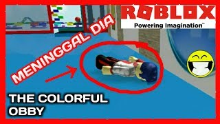 PARKOURUNYA ANJAY BANGET CUY!!!! | ROBLOX The Colorful Obby Indonesia|