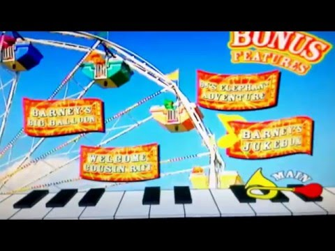 Barney Lets Make Music 2006 DVD Menu