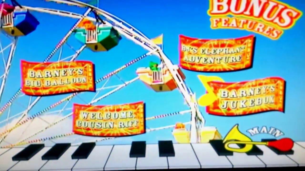 Barney Lets Make Music 2006 DVD Menu
