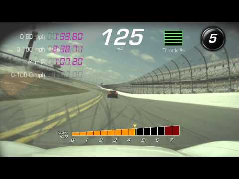 Mike G Driving the C7 Z06 at Daytona
