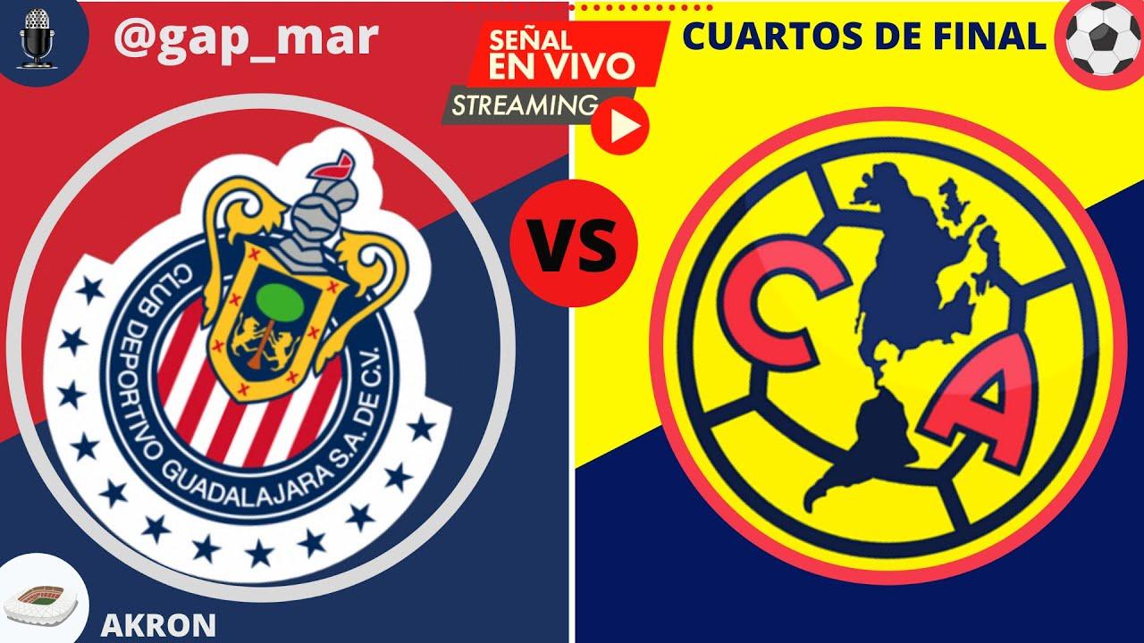Chivas vs Amrica 2020 - Liga MX Cuartos de Final EN VIVO
