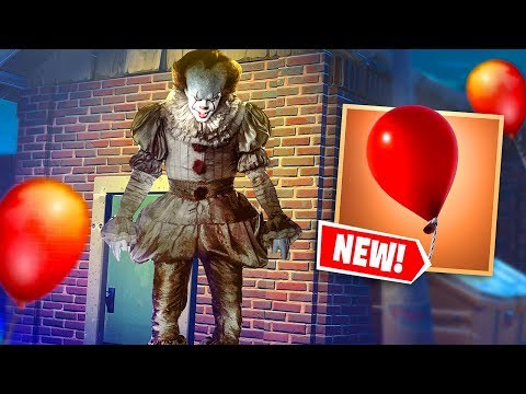 LA NUOVA MODALITA' DI IT (PENNYWISE) SU FORTNITE!!
