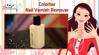 Diwali Special || Colorbar Nail Varnish Remover || Product Review || The Cloakroom Thumbnail