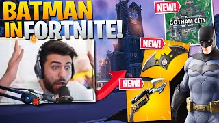 *NEW* BATMAN & Gotham City in Fortnite is AMAZING! (Fortnite Battle Royale Gameplay)