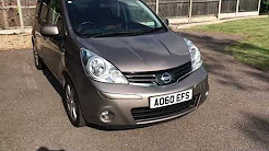 FORSALE 2010 (60) - Nissan Note All extras 1.6 N-Tec Auto 5-Door