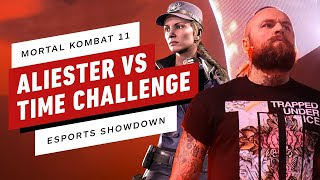 Aleister Black Attacks The Mortal Kombat 11 Time Challenge - IGN Esports Showdown