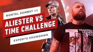 Aleister Black Attacks The Mortal Kombat 11 Time Challenge - IGN Esports Showdown