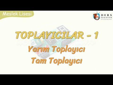TOPLAYICILAR - 1 YARIM TOPLAYICI - TAM TOPLAYICI