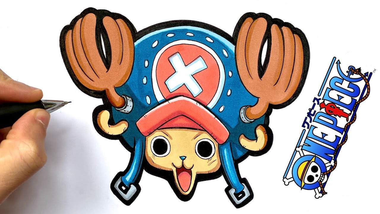 HOW TO DRAW CHOPPER FROM ONE PIECE - YouTube