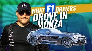 What the F1 drivers drove in Monza