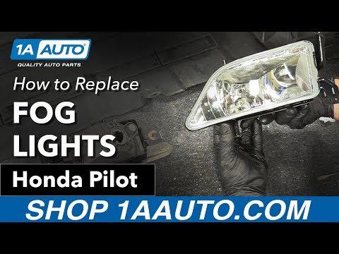 How to Replace Fog Lights 03-08 Honda Pilot