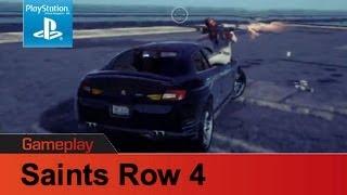 Saints Row 4 PS3 gameplay 2