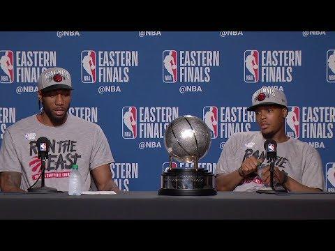 Kawhi Leonard & Kyle Lowry Postgame Interview - Game 6 | Raptors vs Bucks |