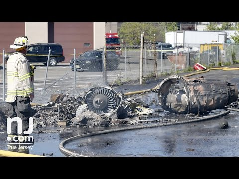 Plane crashes near Teterboro Airport in New Jersey