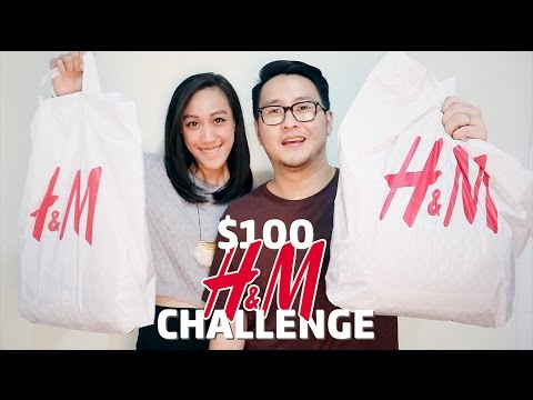 $100 / Rp 1 JUTA H&M Challenge Bahasa Indonesia (English Subs)