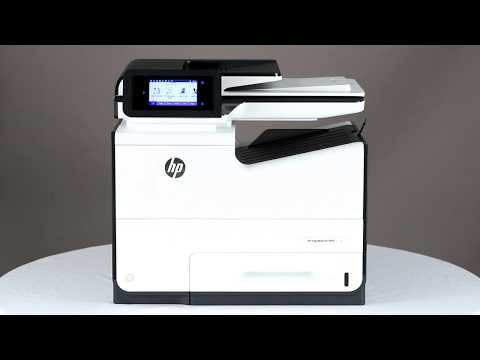 How to clean HP PageWide Pro 577dw Multifunction Printer