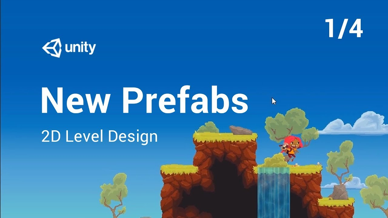 New Prefab Workflows 1/4: 2D Level Design With Tilemap and Nested Prefabs