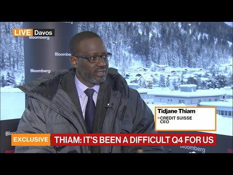 It's Been a Difficult 4Q for Us, Says Credit Suisse's Thiam