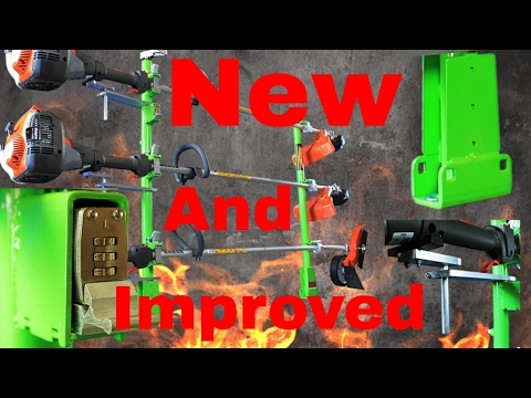 Green Touch Trimmer Rack Installation/Differences Between Old And New