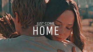 Katniss & Peeta   Just come home.