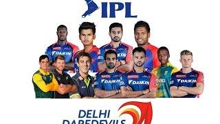 IPL 2018    Delhi daredevils full team squad 2018   DD Full team 2018
