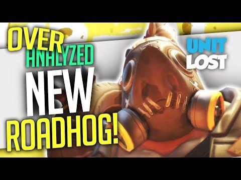 Overwatch Coaching - THE NEW ROADHOG! - PLATINUM 2707 SR - [OverAnalyzed]
