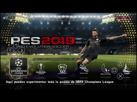 Game Android Offline PES 2019 V6 C19 (PPSSPP) Link + Cara Install - 동영상