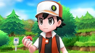 Pokémon Let's Go Pikachu & Eevee - Trainer Red Battle + Full Pokédex