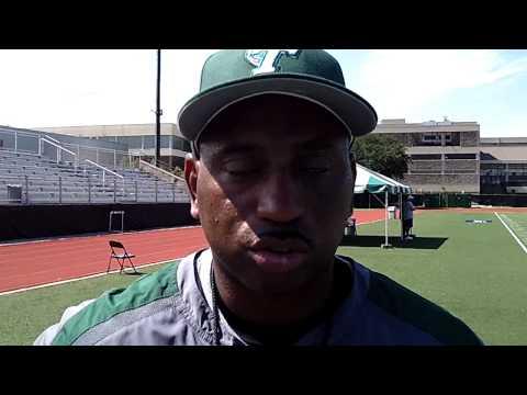 Tulane head coach Curtis Johnson
