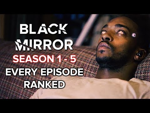 Black Mirror Season 1-5 Every Episode Ranked