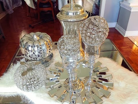 Glam Fall Coffee Table Styling Ideas